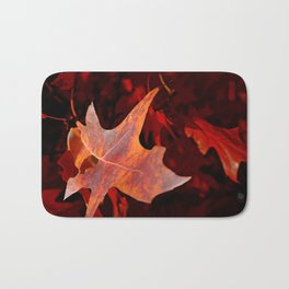Autumn leaf Bath Mat