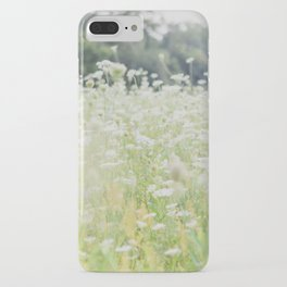 In a Field of Wildflowers iPhone Case