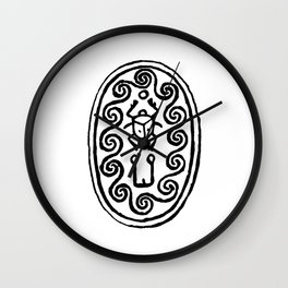 Ancient Egyptian Amulet Wall Clock