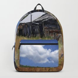 Old Barn, Trampas, New Mexico Backpack