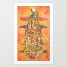Subspaces Art Print