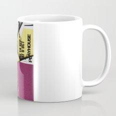 Cat Flips Through Magazine Mug