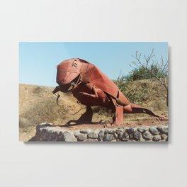 Metal Dinosaur Metal Print