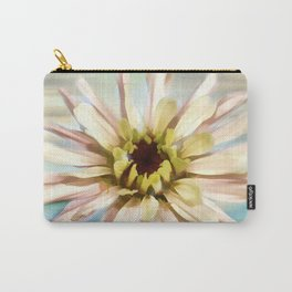 Pastel Zinnia Carry-All Pouch