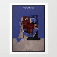 010_ARCREATURES-01 Art Print