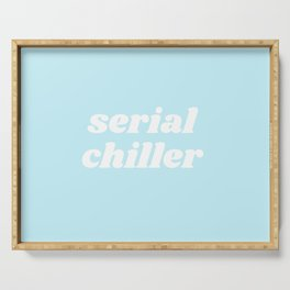 serial chiller Serving Tray
