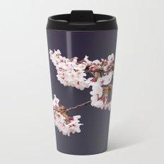 Cherry Blossoms (illustration) Metal Travel Mug
