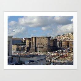 Castle Nuovo Art Print
