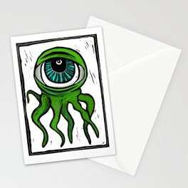 Eyeball Octomonster! Stationery Cards