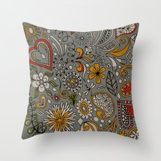 MASAFA 5 Throw Pillow