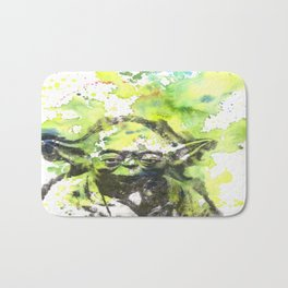 May the Force be with You Yoda Star Wars Bath Mat