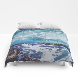 Turbulent Tide Pool Comforters