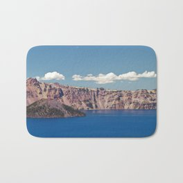 Crater Lake, Mount Mazama, Oregon, Northwest Mountain Bath Mat