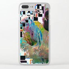 Glitch B.I.G Clear iPhone Case