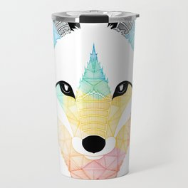 Fox multicolor Travel Mug