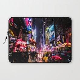 New York City Night Laptop Sleeve