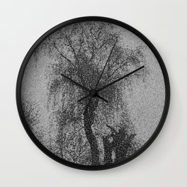 Weeping Willow Wall Clock