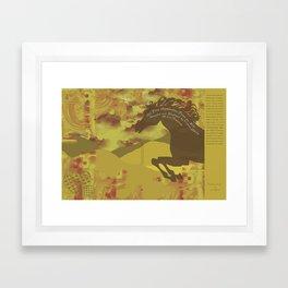 Book Jacket Framed Art Print