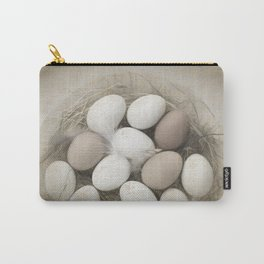 Sketch of eggs in a nest Carry-All Pouch