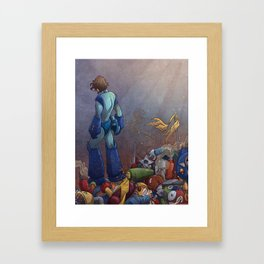 You've Outlived Your Use Framed Art Print