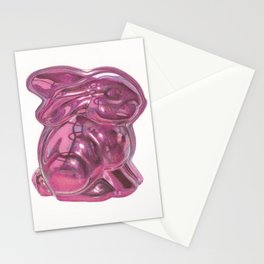 Pink Bunny Stationery Cards