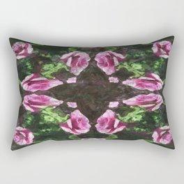 Rosas Moradas 2 Kaleidoscope 12 Rectangular Pillow