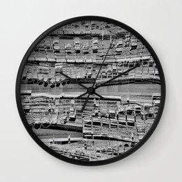 Eau longue Wall Clock