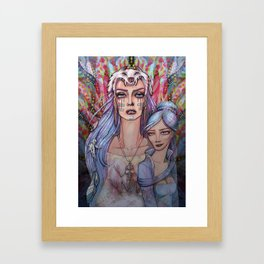 Women Who Run with the Wolves Framed Art Print