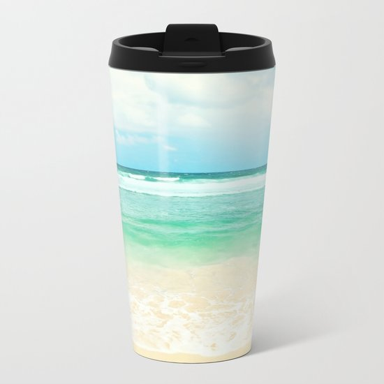 endless sea Metal Travel Mug
