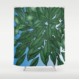 Avocado Sky Shower Curtain