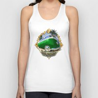 vw bus Tank Tops featuring VW T1 Bus - Just cruisin' by GET-THE-CAR