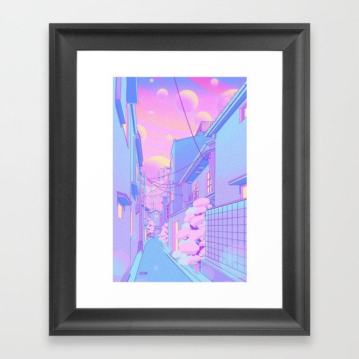 Osaka Morning Gerahmter Kunstdruck