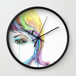 Overflow Wall Clock