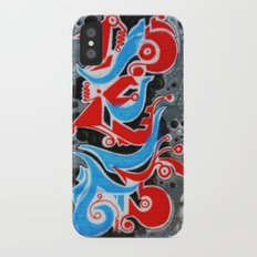 Wall-Art-013 iPhone X Slim Case