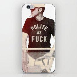 Polite as Fcuk iPhone Skin