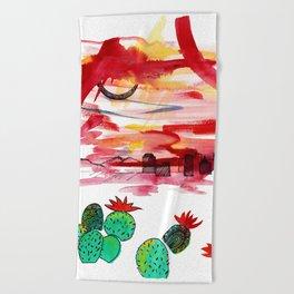 PHX Beach Towel