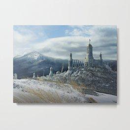 Drakensberg Castle Metal Print