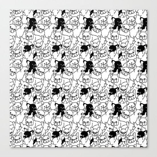 Oh French Bulldog Canvas Print