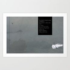 Through the Storm Art Print