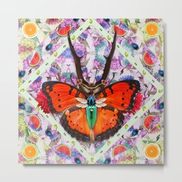 King of Insects - Serie 2 Metal Print
