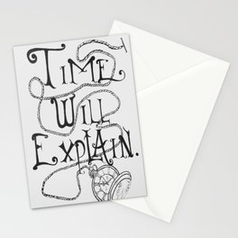 All in Good Time Stationery Cards