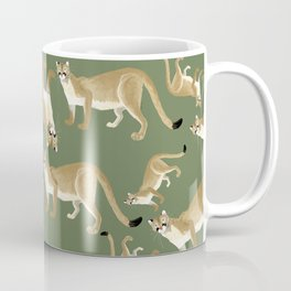 Feline cougar Coffee Mug