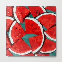 Melon, fruit Metal Print