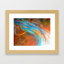 Flying the Cosmos Framed Art Print