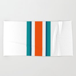 Miami Graphics Beach Towel