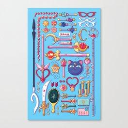 Magical Arsenal Blue Canvas Print