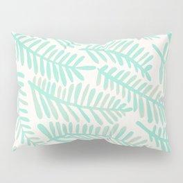 Fronds – Mint Green Palette Pillow Sham