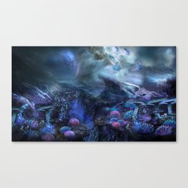 Uncharted World Canvas Print