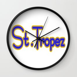 St. Tropez Wall Clock
