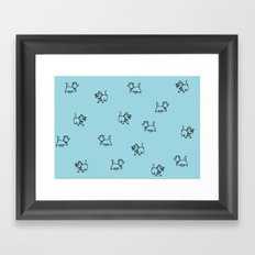 Everybody Wants To Be A Cat Framed Art Print